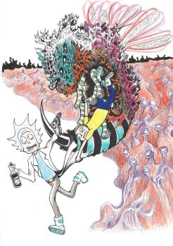 Rick and Morty Contest #rickandmorty by DoctorFantastic