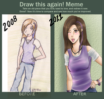 Draw This Again Meme by Amaliee