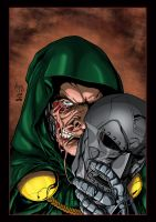 The Face of Doom, Dr Doom by wordmongerer