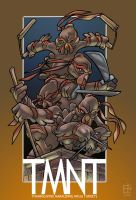 TMNT Thanksgiving 2006 by EryckWebbGraphics