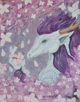 The Dragon and the Cherry Blossoms by melodywinters