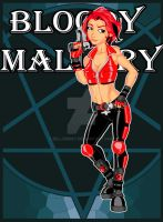 Bloody Mallory by BillJersey