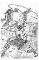 Kratos pencils by smackenziemoll