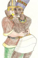 Anglo-Saxon and Egyptian by DaBrandonSphere