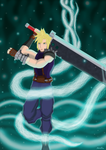 Cloud Strife by 4evermonicris