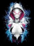Spiderman Spider Gwen Inspired Epic Portrait by studiomuku
