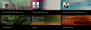 iTunes Player for Rainmeter by maxvanijsselmuiden