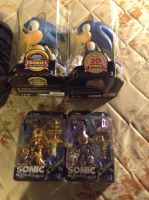 My Sonic Figures by UKD-DAWG