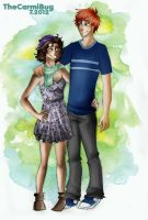 Art trade: Beau and Bree by TheCarmiBug