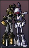 Roks and Blakbeetle by Viquey