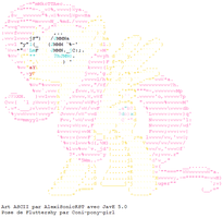 ASCII Fluttershy Profile by AlexiSonicKST