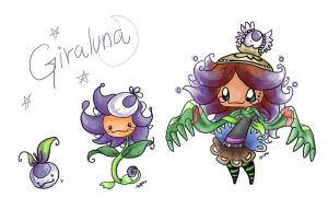 wild giraluna appeared... by Piquipauparro