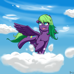 Twizz in the Clouds by JasonStrom