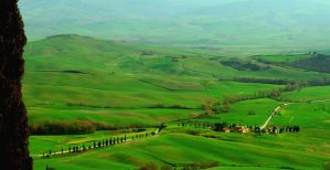 The Tuscan Farm by VeryBadGirl