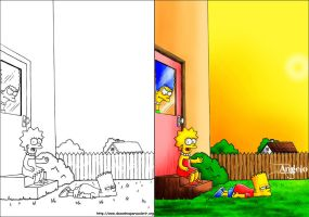 Simpsons by Samuraigt