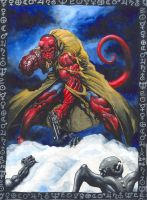 Hellboy : Ghosts Of Siberia by avix