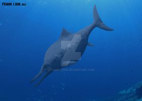 Ophthalmosaurus. by Frank-Lode