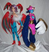 Darkstalkers Barbies by RoxyFett007