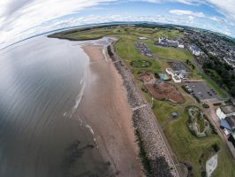 Carnoustie Beach Front by BusterBrownBB