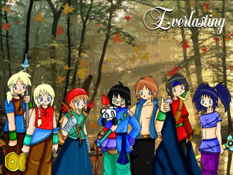 Wallpaper Everlasting by Suichi-Ameria