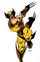 Wolvie color by Glwills1126