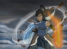 Korra The Avatar by kmccaigue