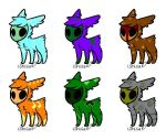 1-6 skull adopts -open- Pay What You Want by lepetit0iseau