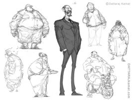 All Old Rough Sketches by Dattaraj
