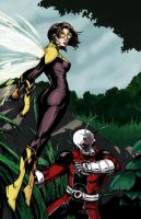 Ant Man and the Wasp - color by jvollmer