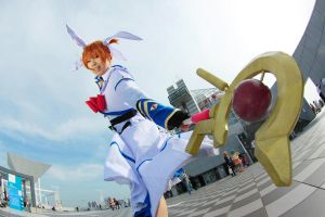 Magical Girl Lyrical Nanoha by azuooooo