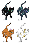 Cat Breedables OPEN by ShadowMew-Adoptables