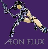 Aeon Flux by stressncoffee