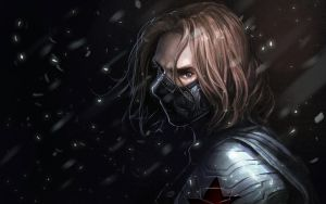 winter soldier by Gopye