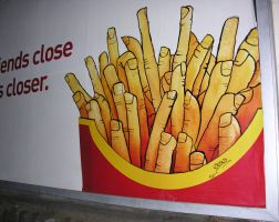 Fries Mc Fingers by object000