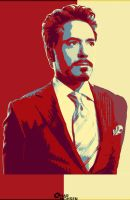 Robert Downey JR by omarmohsen
