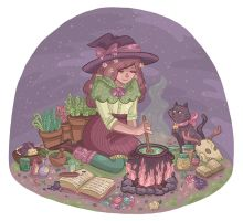 Witchy by Cup-Kayke