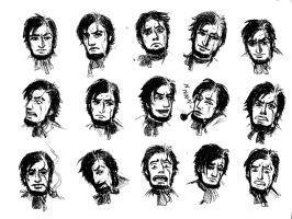 Captain's Ahab expressions by elicenia