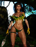 Rogue in Savage Land by Agr1on