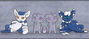 Meowstic Composition by ZekromLullaby