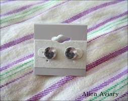 Full Moon Earrings by alienaviary