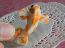 Koi Fish Charm by ThePetiteShop
