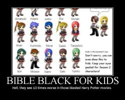 If 4Kids Did Bible Black 2.0 by spectrevampire