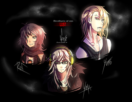 --: Brothers of sin - LUST :-- by NiseSK