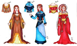 Andune Dress Concepts II by KatyCrayon