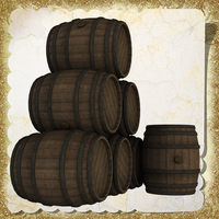 Barrels by Just-A-Little-Knotty