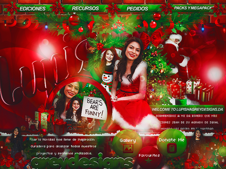 +ID ICARLY CHRISTMAS by LupishaGreyDesigns