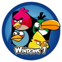 Angry Birds Win 7 Logo by CrazyGleam