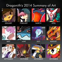 2014 Summary of Art by Dragonith
