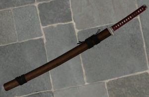 'Fallout: New Vegas' Katana XPS ONLY!!! by lezisell