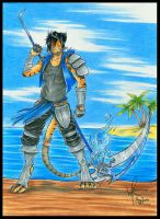 The Sea Dragon by AmyJusta